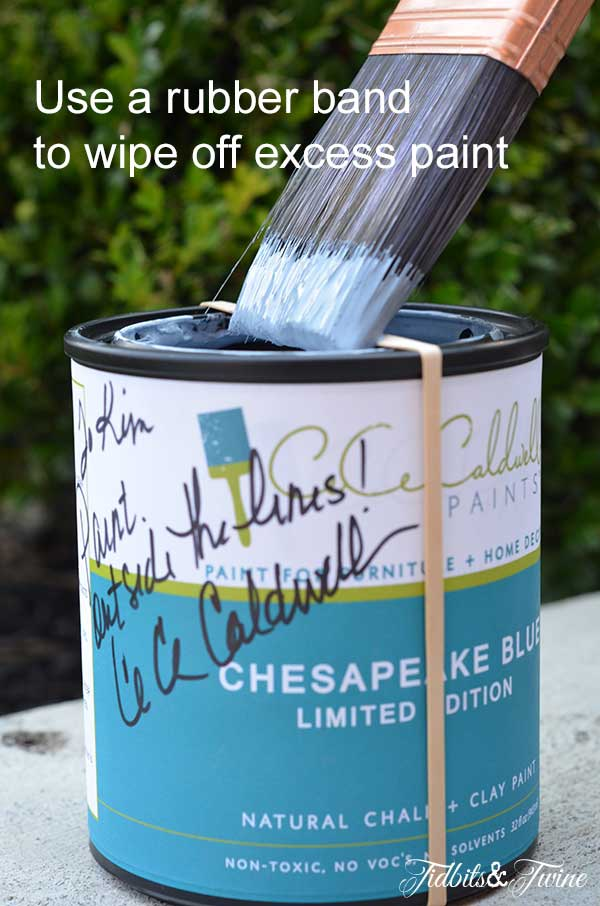 Tidbit Tuesday Rubber Band Around Paint Can