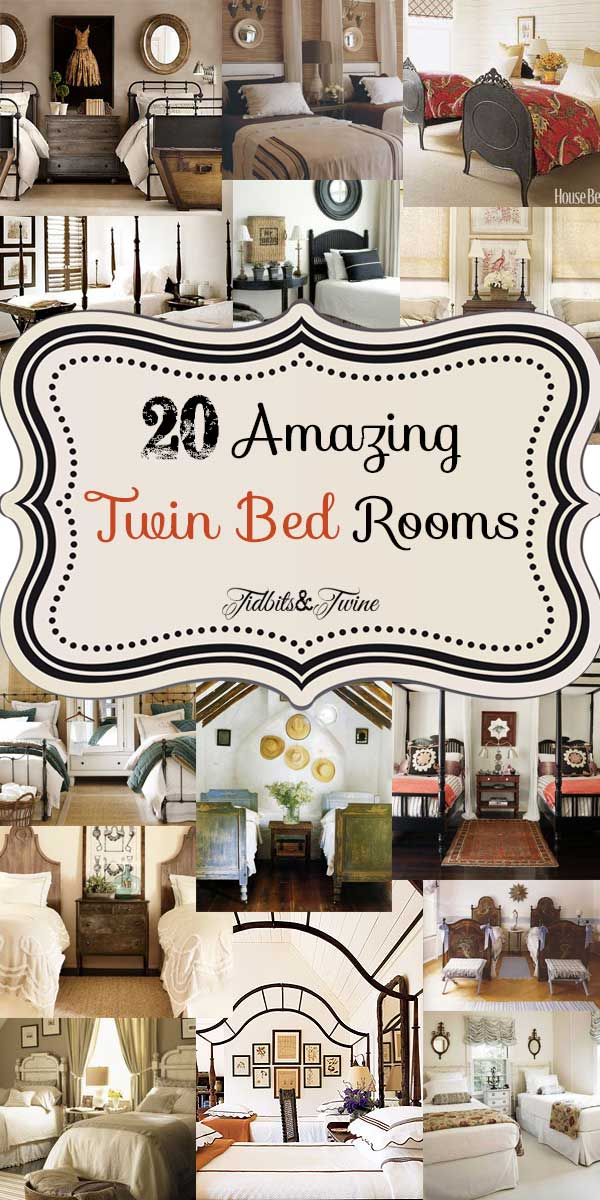 Guest Bedroom Inspiration 20 Amazing Twin Bed Rooms