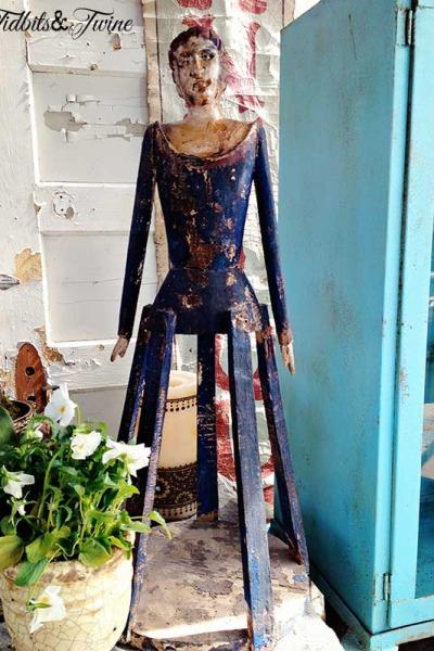 Part 2 – A Trip to the Antique Faire {Inspiration & Ideas}