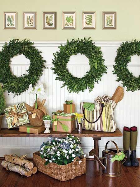 Tidbits&Twine-Boxwood-Wreath-Wall-Decor - TIDBITS&TWINE
