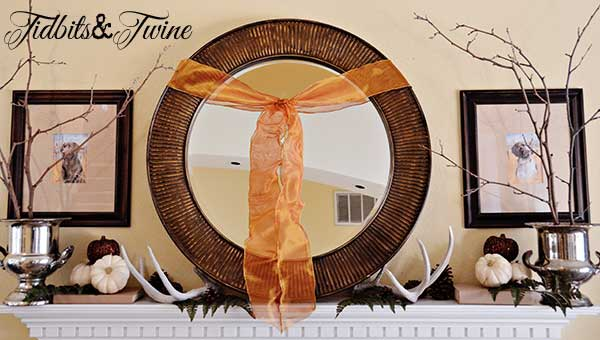Tidbits&Twine Fall Mantel