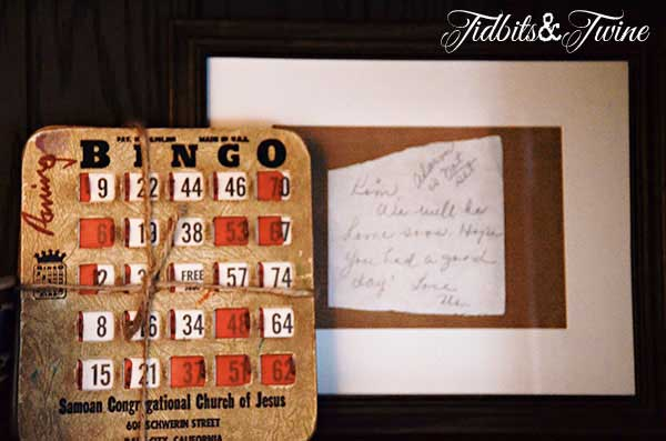 Tidbits&Twine French Cabinet Bingo Cards and Noteb