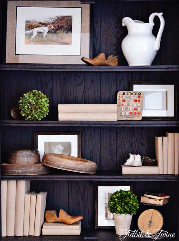 Tidbits&Twine French Cabinet Shelving 3