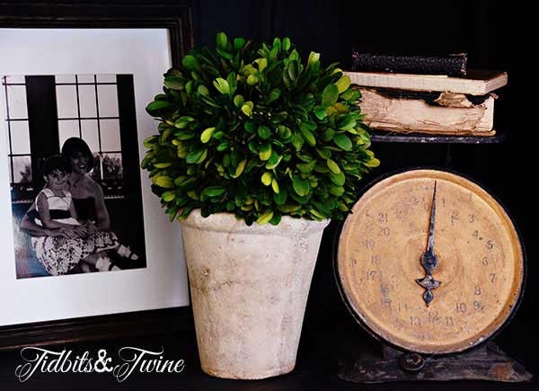 Tidbits&Twine French Cabinet Vintage Scale