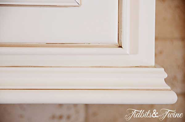 Tidbits&Twine Kitchen Cabinet Trim