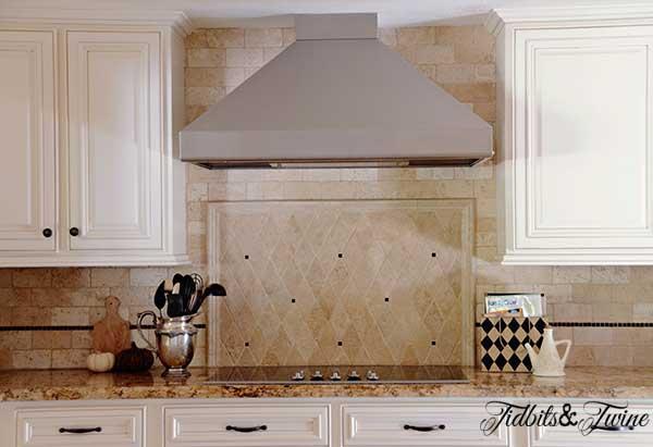 Tidbits Twine Kitchen Cabinets Stove