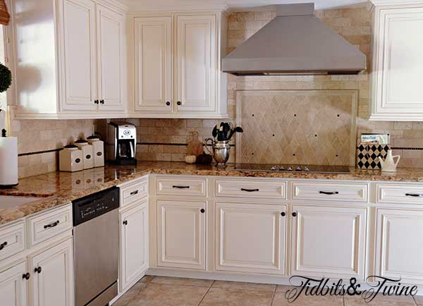Tidbits Twine Kitchen Cabinets