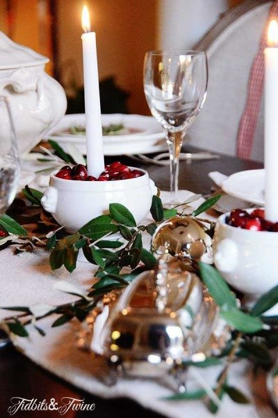 Styling my Christmas Table