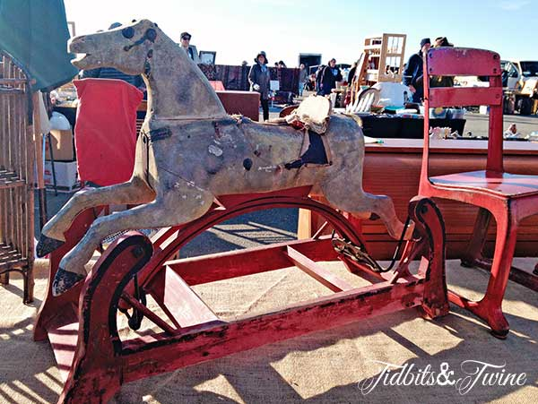 Tidbits&Twine-Vintage-Red-Rocking-Horse