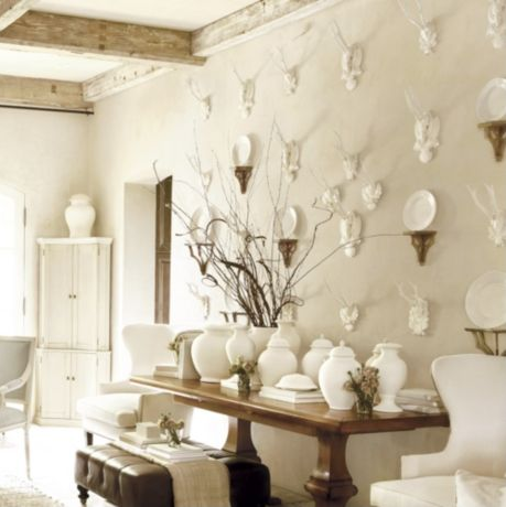Decorating With Antlers And Animal Heads Trend Or Tried