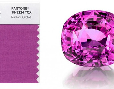 Decorating with Pantone's 2014 Color of the Year {Radiant Orchid}
