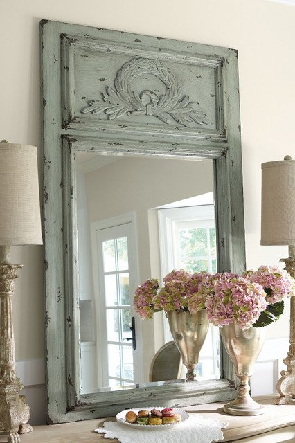 Soft Surroundings Laurel Trumeau Mirror