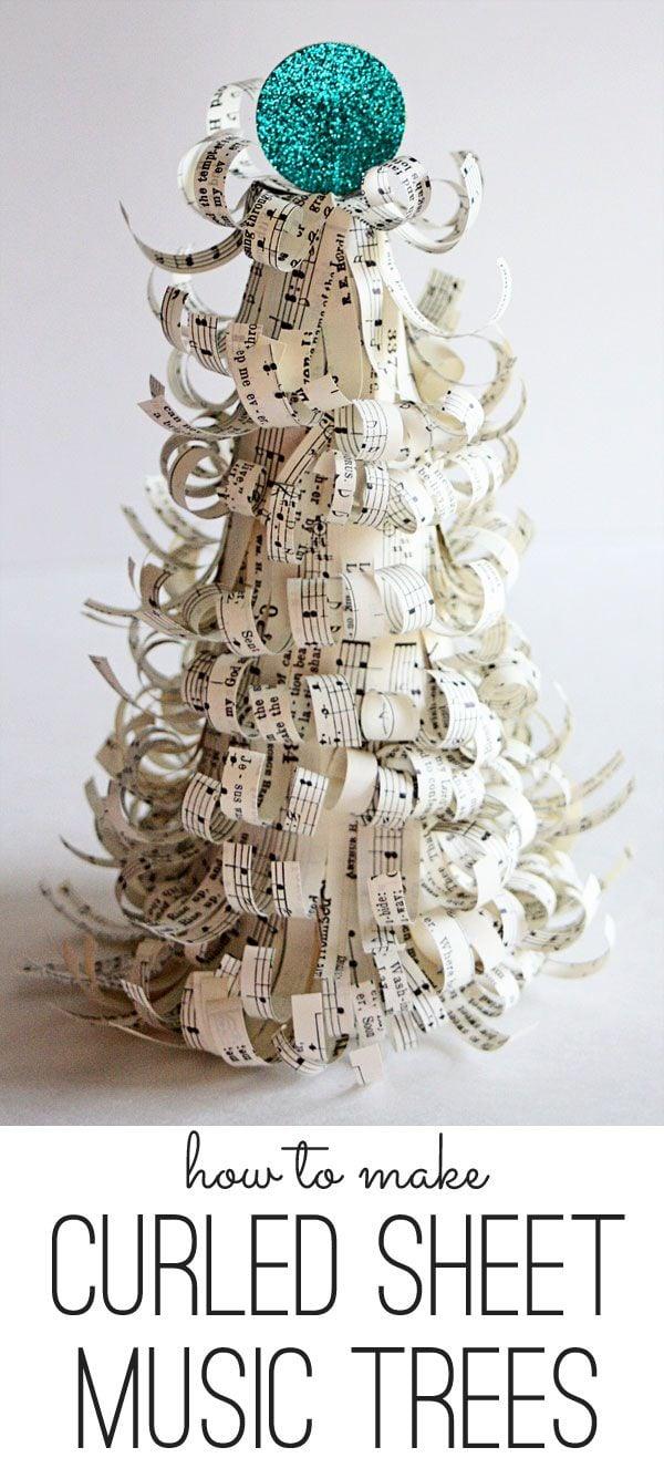 The Shabby Cottage Sheet Music Tree