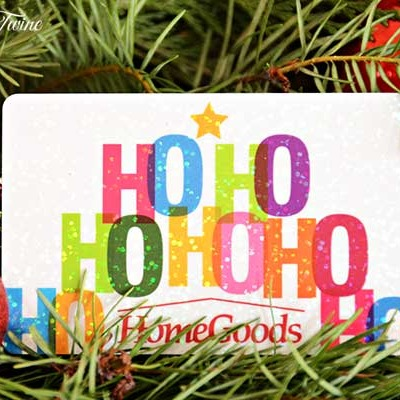 $50 HomeGoods Gift Card Giveaway!