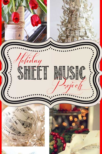 6 Fun Holiday Sheet Music Projects