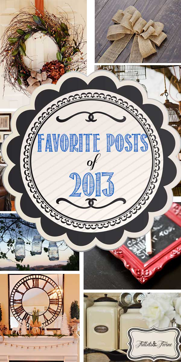 Your Favorite Posts of 2013