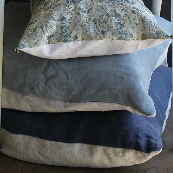 Elsie Green Blue Pillow Covers