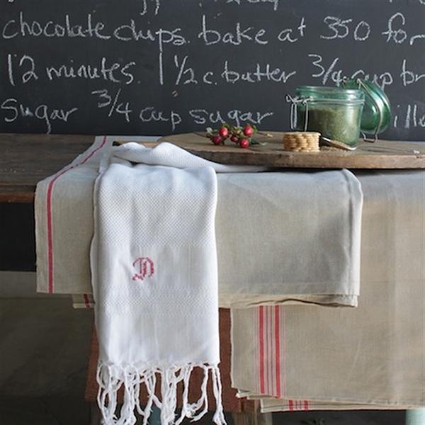Elsie Green Vintage Linen Runner
