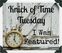 Knick of Time Tuesday Featured Button