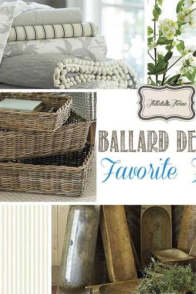 Ballard Designs Favorite Finds & Inspiration