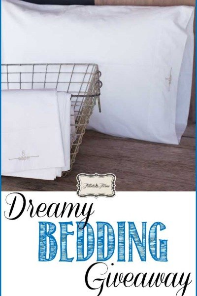 Dreamy Bedding Giveaway from Elsie Green