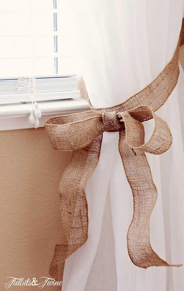 TIDBITS-&-TWINE-Guest-Bedroom-Burlap-Bow-Curtain-Tieback