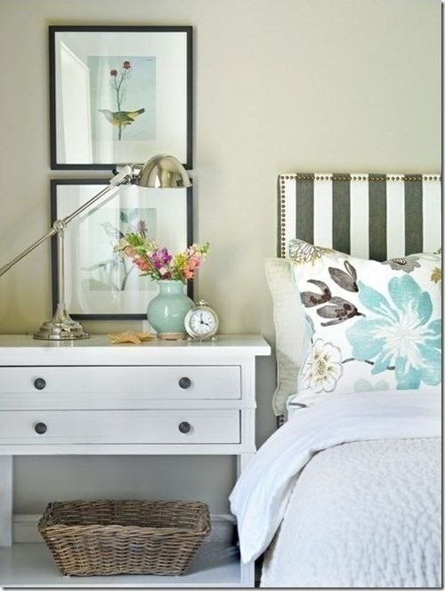 TIDBITS & TWINE - Striped headboard