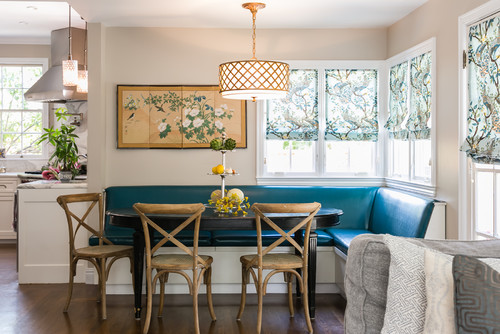 TIDBITS & TWINE - X back chair with banquette