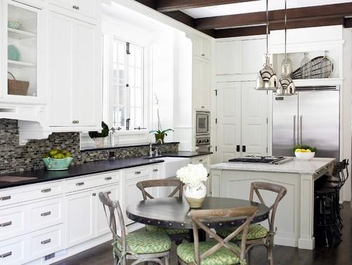 TIDBITS & TWINE - X back kitchen chair