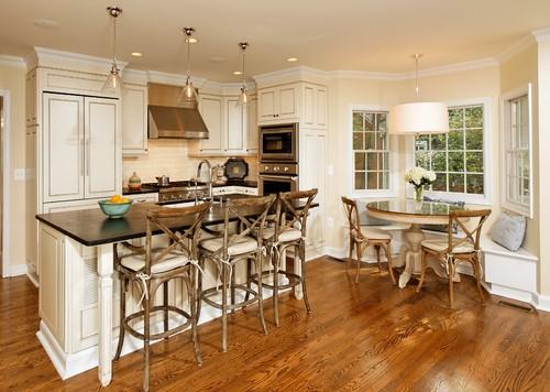 TIDBITS & TWINE - X back kitchen chairs