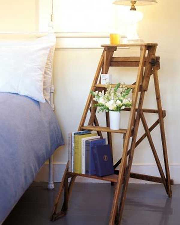 Vintage Ladder Nightstand