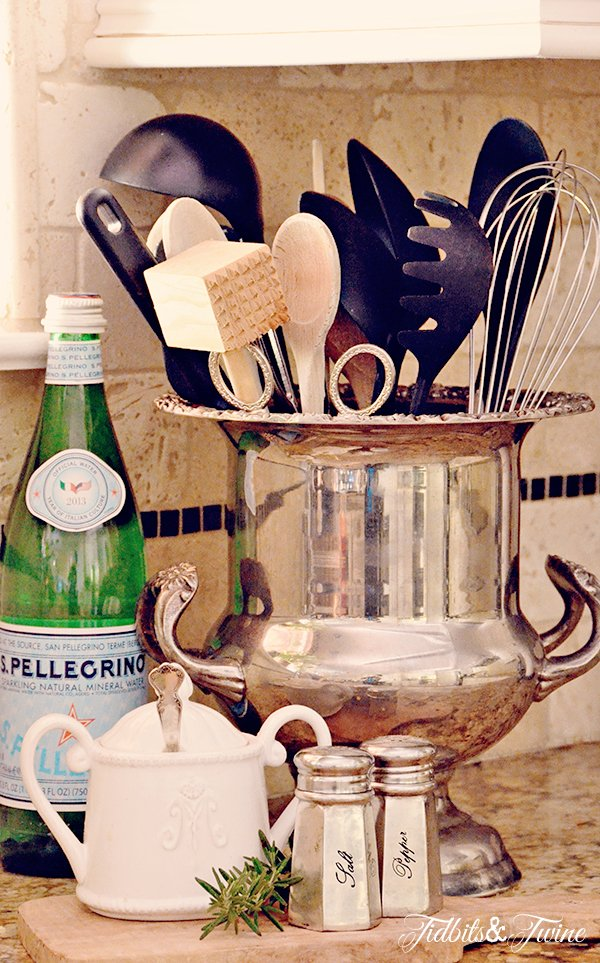 TIDBITS & TWINE - Champagne Bucket Utensil Holder v2 REV