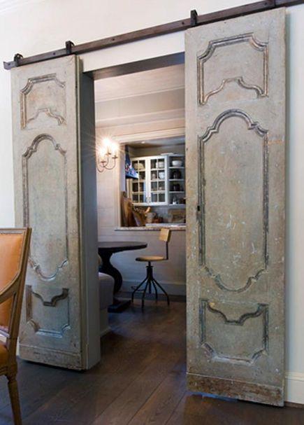 TIDBITS & TWINE Dining Room Barn Door