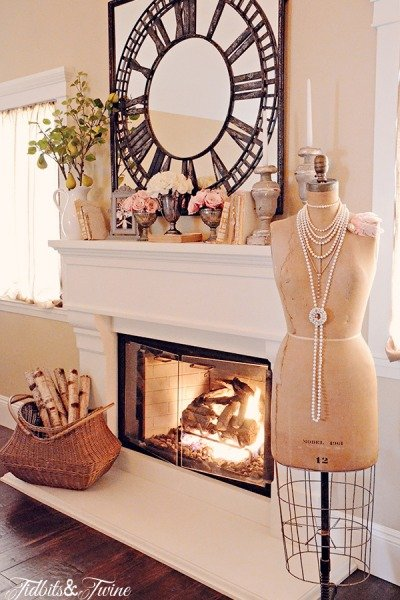 My Roman Numeral Clock Mirror {Shopping Sources}