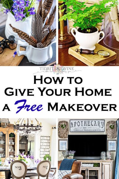 how to give your home a free makeover
