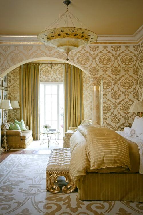 Gold Metallic Bedroom