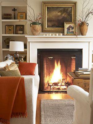 Subtle Gold Living Room