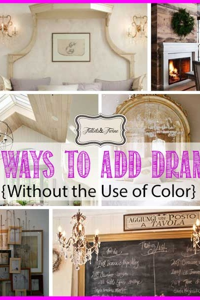 Be Brave – Be Bold {Decorating with Drama}