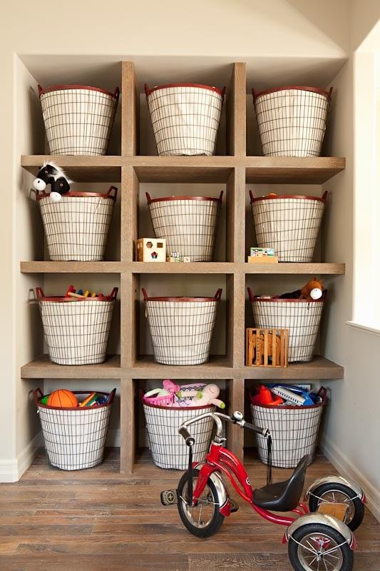 Tidbits Twine Basket Toy Storage