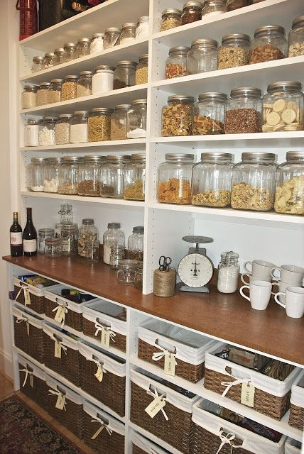 TIDBITS & TWINE Pantry with Baskets