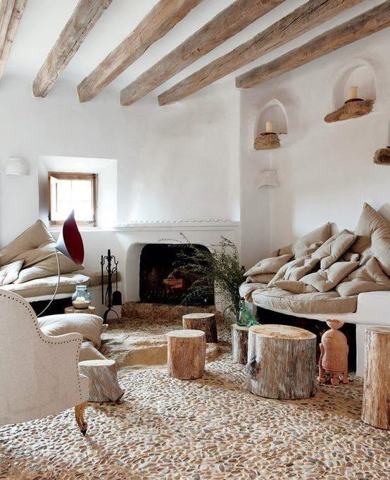 TIDBITS & TWINE Pebble Floor Living