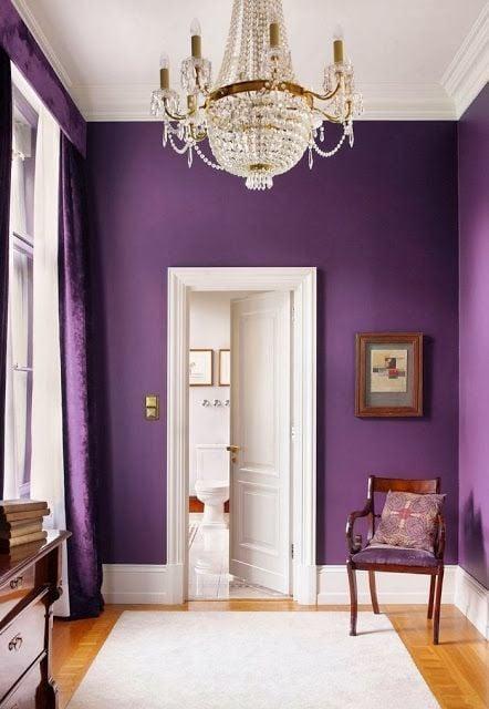TIDBITS & TWINE Radiant Orchid Room