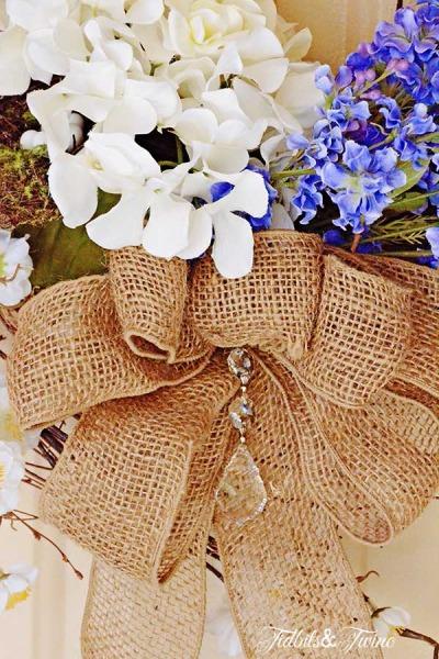 DIY Spring Wreath 2014 {One Wreath for All Seasons}