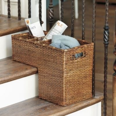 TIDBITS & TWINE Stair Basket