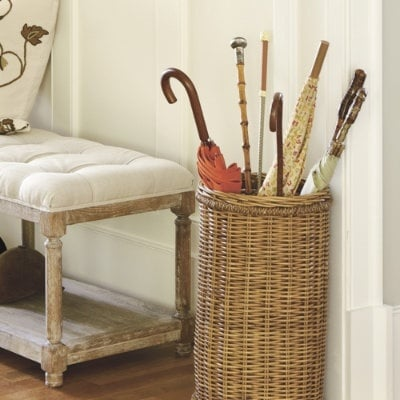 TIDBITS & TWINE Umbrella Basket
