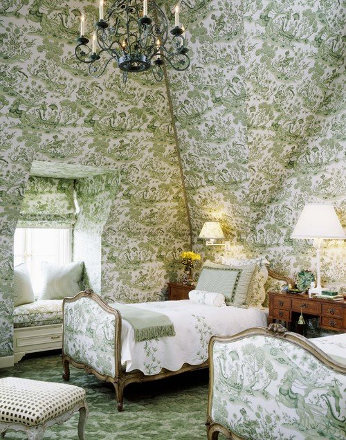 textile spotlight timeless toile tidbits amp twine blue toile bedroom four post bed cozy elegant bedrooms