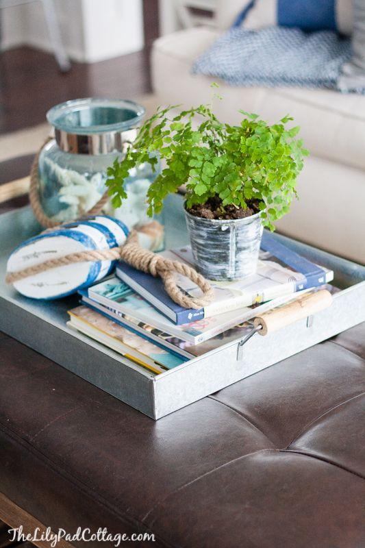 6 approaches to styling a coffee table | tidbits&twine