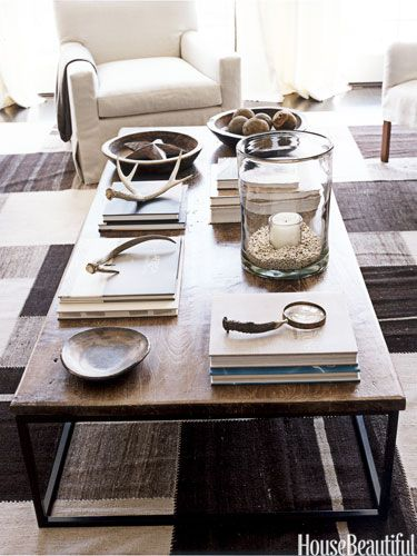 Neutral Styled Coffee Table
