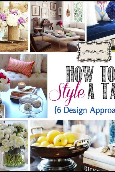 How to Style a Coffee Table – 6 Design Approaches