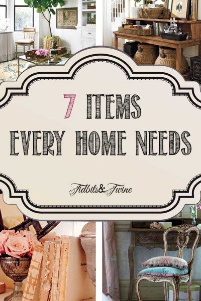 7 Decor Items Your Home Can't Live Without